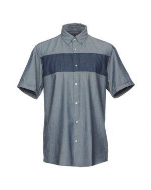 Джинсовая рубашка MICHAEL KORS. Цвет: синий