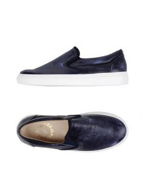 Низкие кеды и кроссовки PENELOPE. Цвет: темно-синий