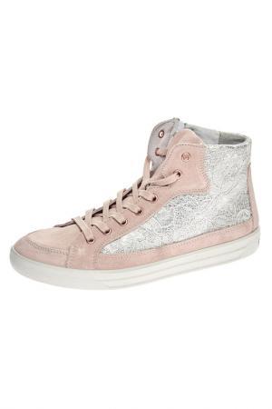 Ботинки Ricosta. Цвет: розовый (big)