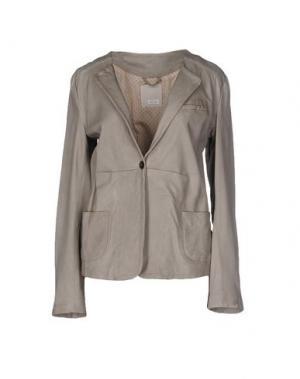 Пиджак GOLD CASE. Цвет: серый