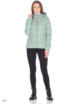 Куртка BRUNOTTI. Цвет: зеленый