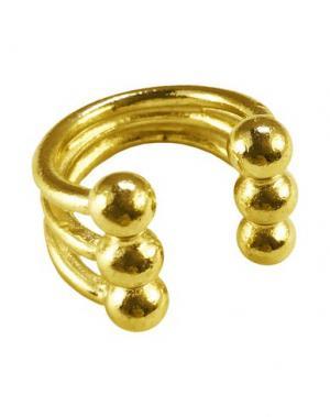 Кольцо GOGO PHILIP. Цвет: золотистый