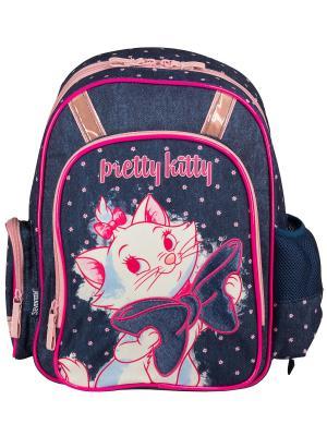 Рюкзак с эргономической EVA-спинкой. Marie Cat. Цвет: темно-синий, розовый