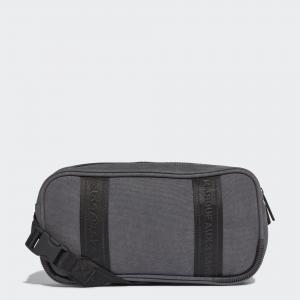Сумка через плечо  NMD adidas. Цвет: серый