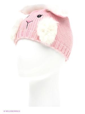 Шапка True Fur. Цвет: розовый