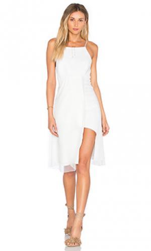 Платье sazan VIVIAN CHAN. Цвет: белый
