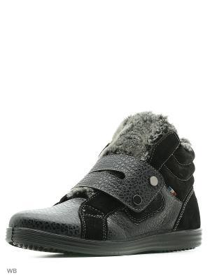 Ботинки Marko. Цвет: черный, коричневый