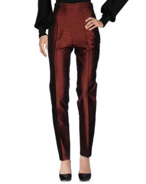 Повседневные брюки SANTACROCE. Цвет: бронзовый