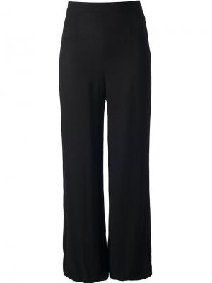 Широкие брюки с завышенной талией Biba Vintage. Цвет: чёрный