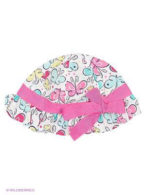 Панама детская текстильная PlayToday. Цвет: розовый