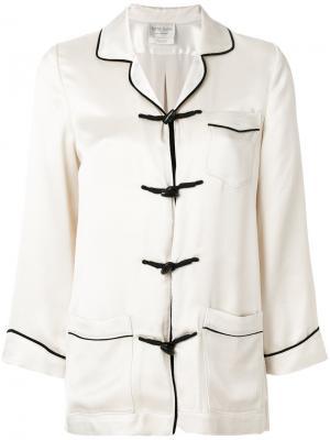 Легкая куртка с застежками тогл Forte. Цвет: телесный