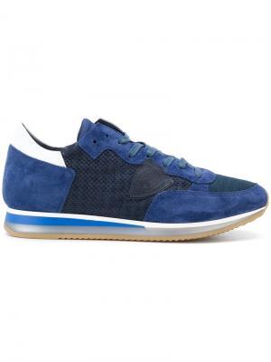 Кроссовки Tropez Philippe Model. Цвет: синий
