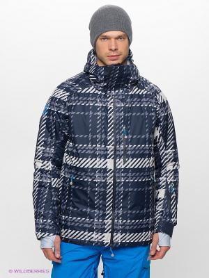 Куртка Stayer. Цвет: синий, белый