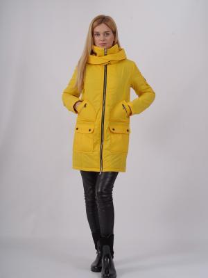 Пальто Nikolom. Цвет: желтый