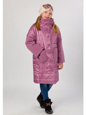 Стеганое пальто MARIELA. Цвет: лиловый