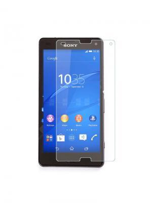 Защитное стекло для Sony Z3 compact IQ Format. Цвет: прозрачный