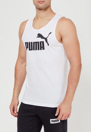 Майка спортивная PUMA. Цвет: белый