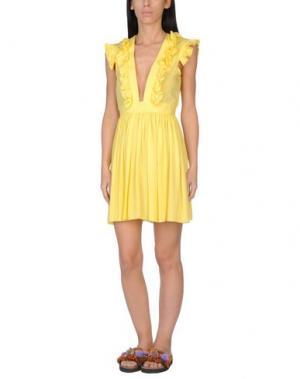 Пляжное платье SUN SISTERS BEACHWEAR. Цвет: желтый