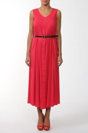 Платье Gouache. Цвет: красный
