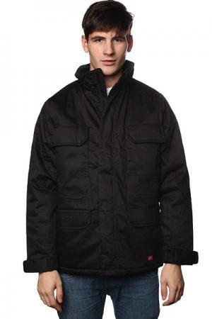 Куртка  Grand Island Jacket Black Dickies. Цвет: черный