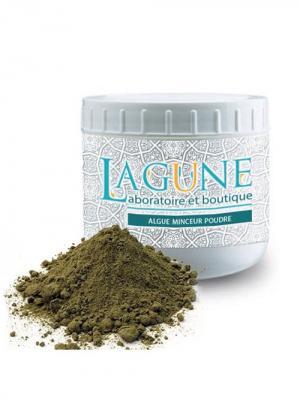 Сухие водоросли для обертывания: против целлюлита, похудения. 500г. LAGUNE. Цвет: оливковый