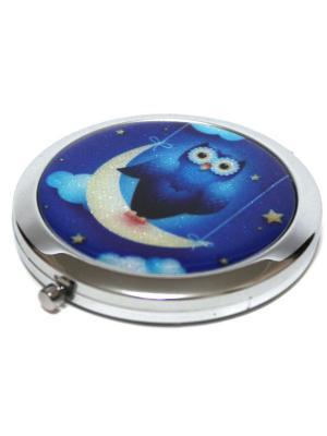 Зеркальце Eleon. Цвет: синий, голубой
