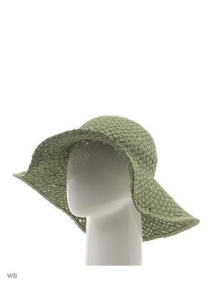 Шляпа United Colors of Benetton. Цвет: зеленый