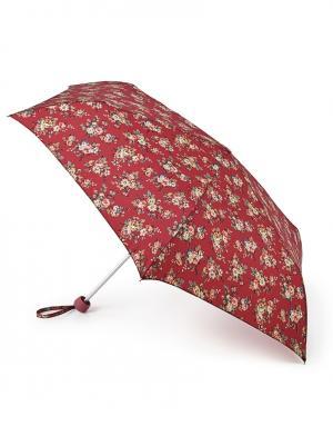 Зонт механический Цветы  by Fulton Cath Kidston. Цвет: красный