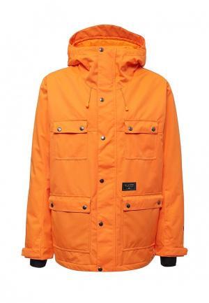 Куртка горнолыжная Billabong. Цвет: оранжевый