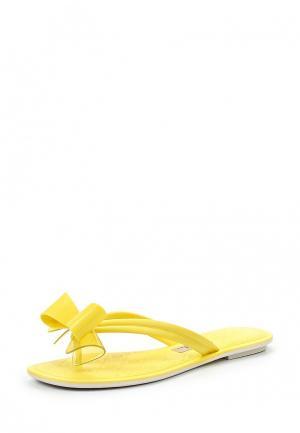 Сланцы Grendha. Цвет: желтый