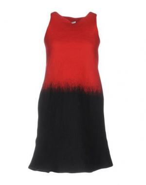 Короткое платье SYBILLA. Цвет: красный