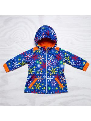 Ветровка Arctic Kids. Цвет: синий, красный, оранжевый