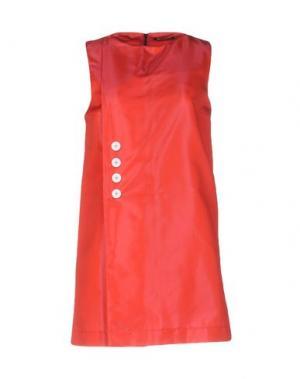 Короткое платье NINEMINUTES. Цвет: красный