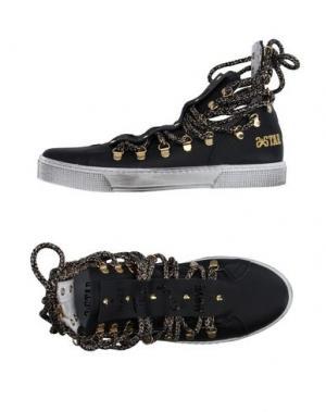 Высокие кеды и кроссовки 2STAR. Цвет: черный
