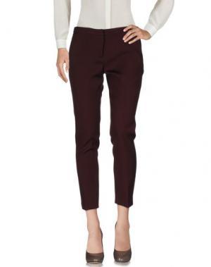 Повседневные брюки FABERGE&ROCHES. Цвет: баклажанный