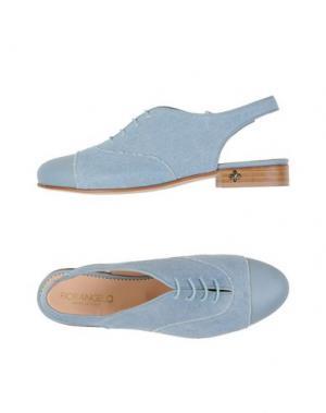 Обувь на шнурках FIORANGELO. Цвет: небесно-голубой