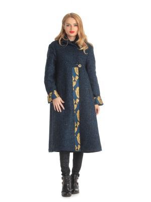 Пальто Artwizard. Цвет: черный, горчичный, синий