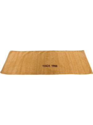 Коврик для йоги Indibird Home. Цвет: бежевый
