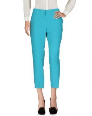 Повседневные брюки TARA JARMON. Цвет: бирюзовый