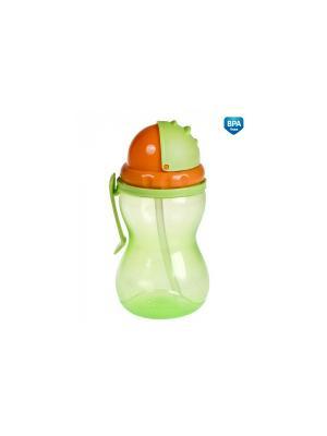 Поильник 56/113 Canpol babies. Цвет: зеленый, оранжевый