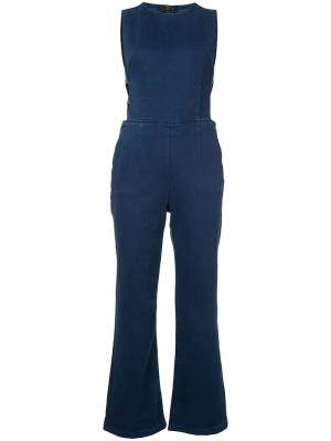 Denim jumpsuit 3X1. Цвет: синий