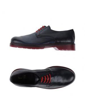 Обувь на шнурках 1° GENITO. Цвет: темно-синий