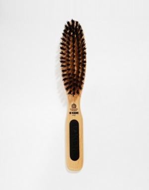Kent Узкая щетка для укладки волос. Цвет: коричневый