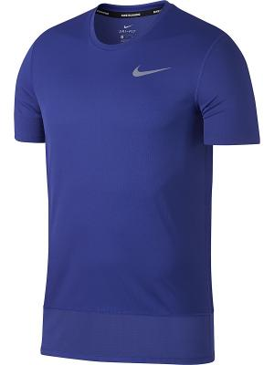 Футболка M BRTHE RAPID TOP SS Nike. Цвет: фиолетовый
