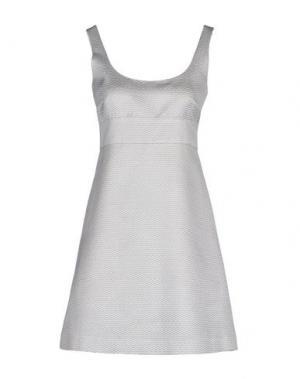 Короткое платье MALAICA. Цвет: светло-серый