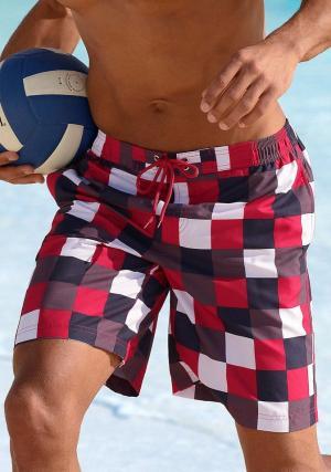 Пляжные шорты Otto. Цвет: красный
