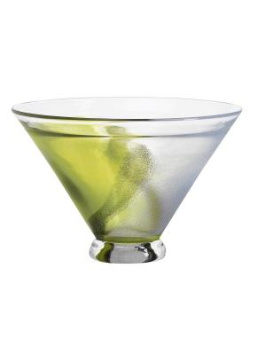 Twister Чаша GREEN LARGE. Kosta Boda. Цвет: зеленый