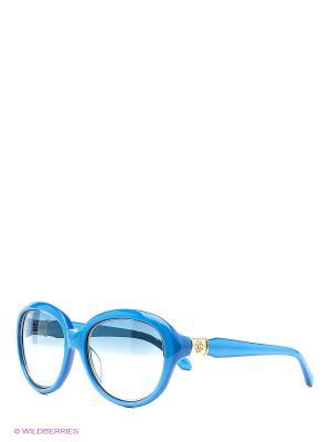 Солнцезащитные очки RC 781T 87W Roberto Cavalli. Цвет: голубой