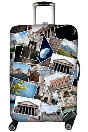 Чехол на чемодан SOVA COVER. Цвет: фотоколлаж