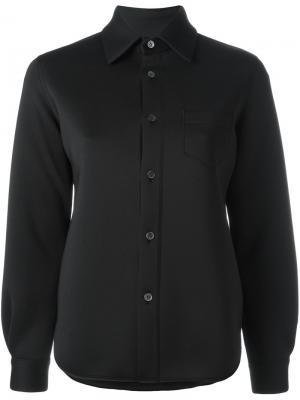 Классическая рубашка Junya Watanabe Comme Des Garçons. Цвет: чёрный